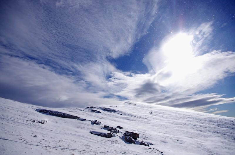 Ceuze corniche pic hiver