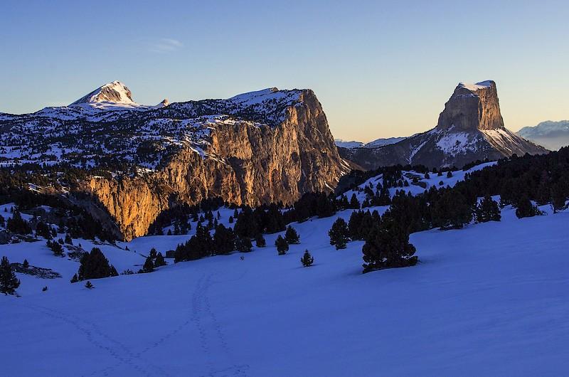 CdR85 vercors mont aiguille grand veymont hiver