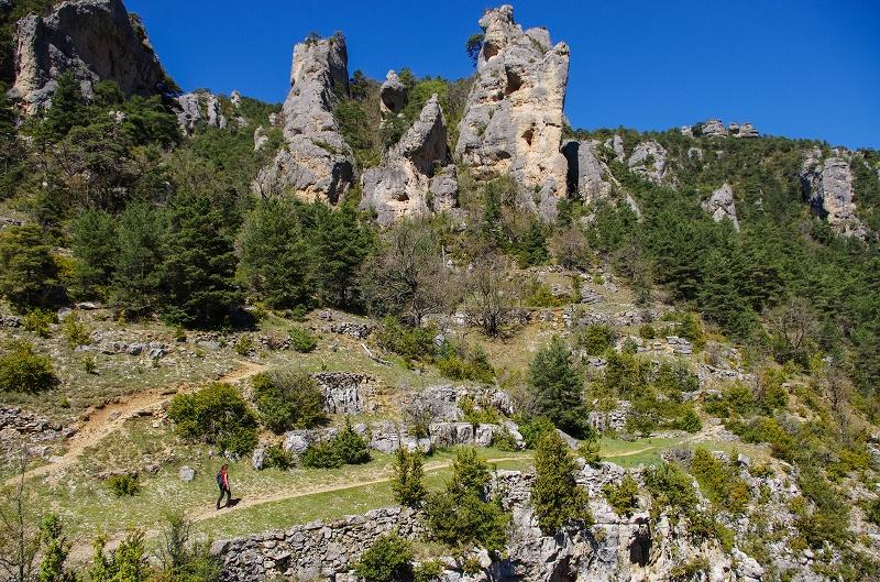 Causse de Sauveterre Cirque de Saint Marcellin randonnée