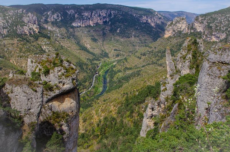 Aveyron Gorges du Tarn Jonte