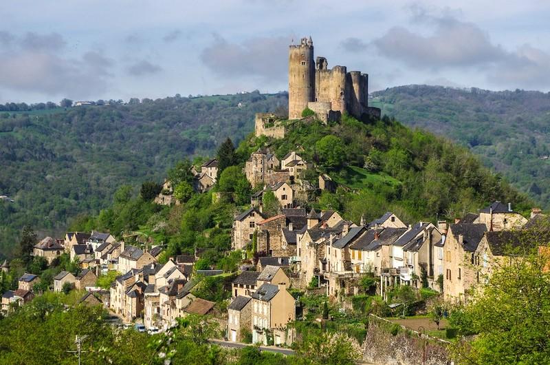 Najac randonnée château