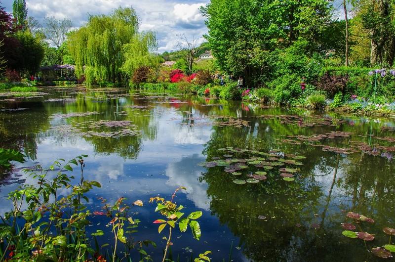Giverny Fondation Monet le jardin aquatique bassin nymphéas