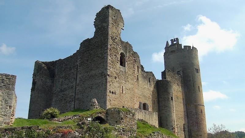 Najac le château