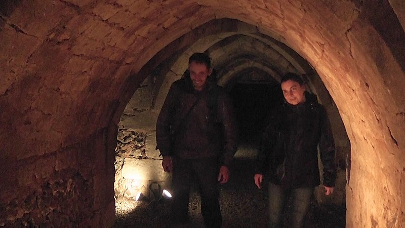 conches en ouche les souterrains