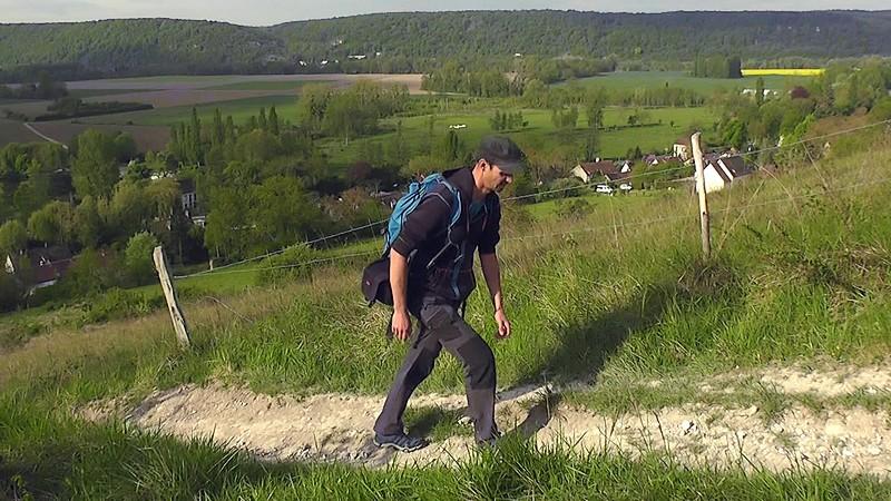 coteaux de giverny randonnée