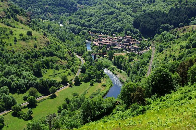 GR470 Allier Haute Loire Saint Julien Chazes