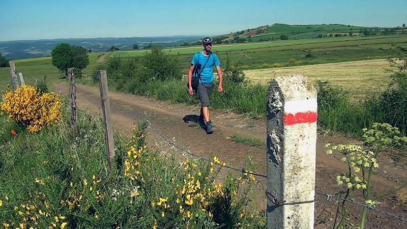 GR470 plateau du Devès randonnée
