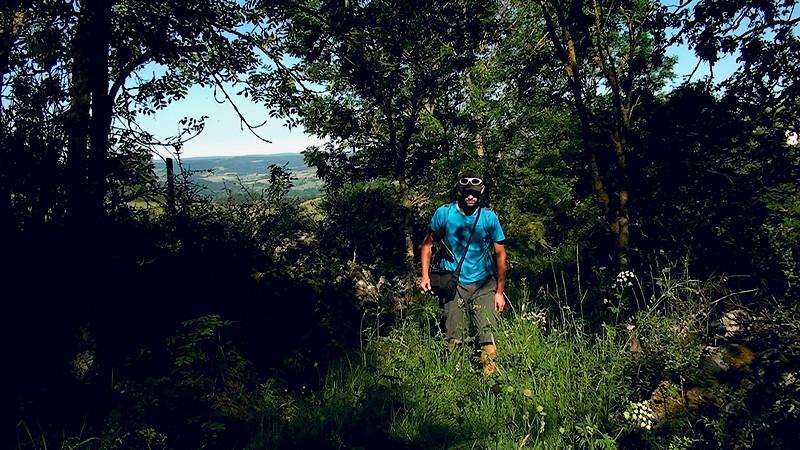 GR470 randonnée Devès Monteil