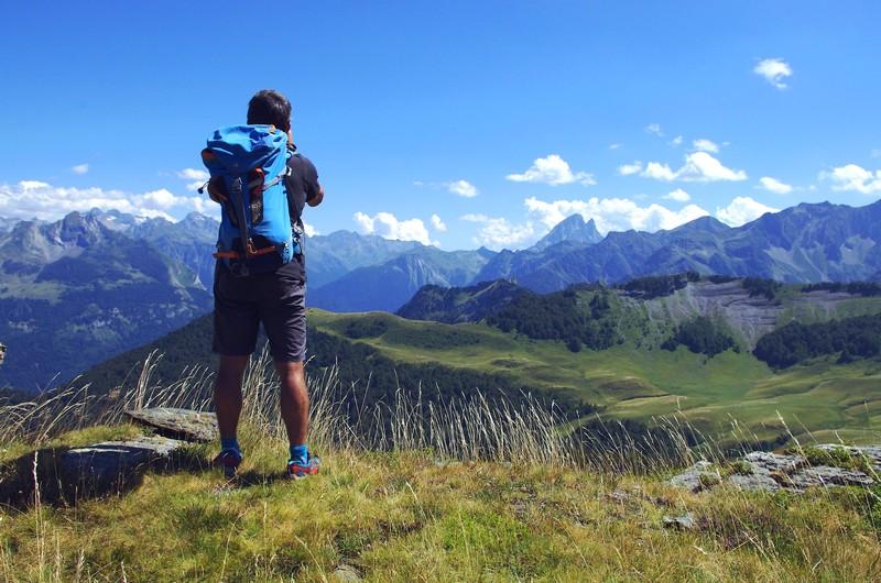 Trek des 3 Vallées, Béarn, Col de Besse, Ossau