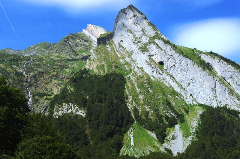 Trek des 3 Vallées, Béarn, Pic de la Ténèbre