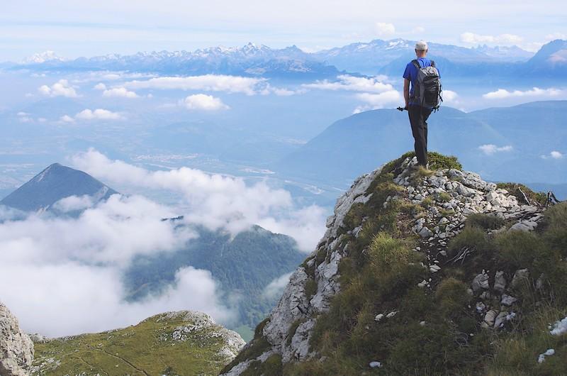 Vercors randonnée panorama sur les Alpes