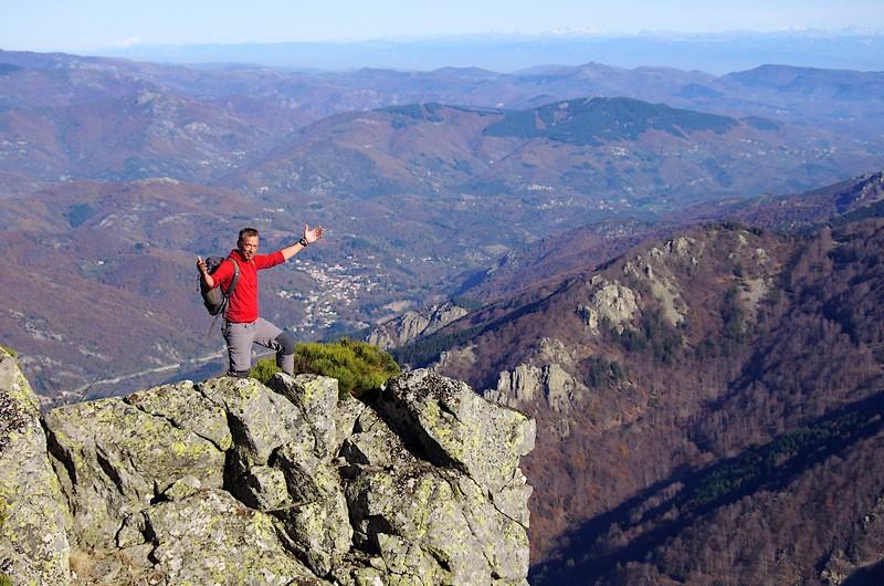 Ardèche Rocher d'Abraham sommet