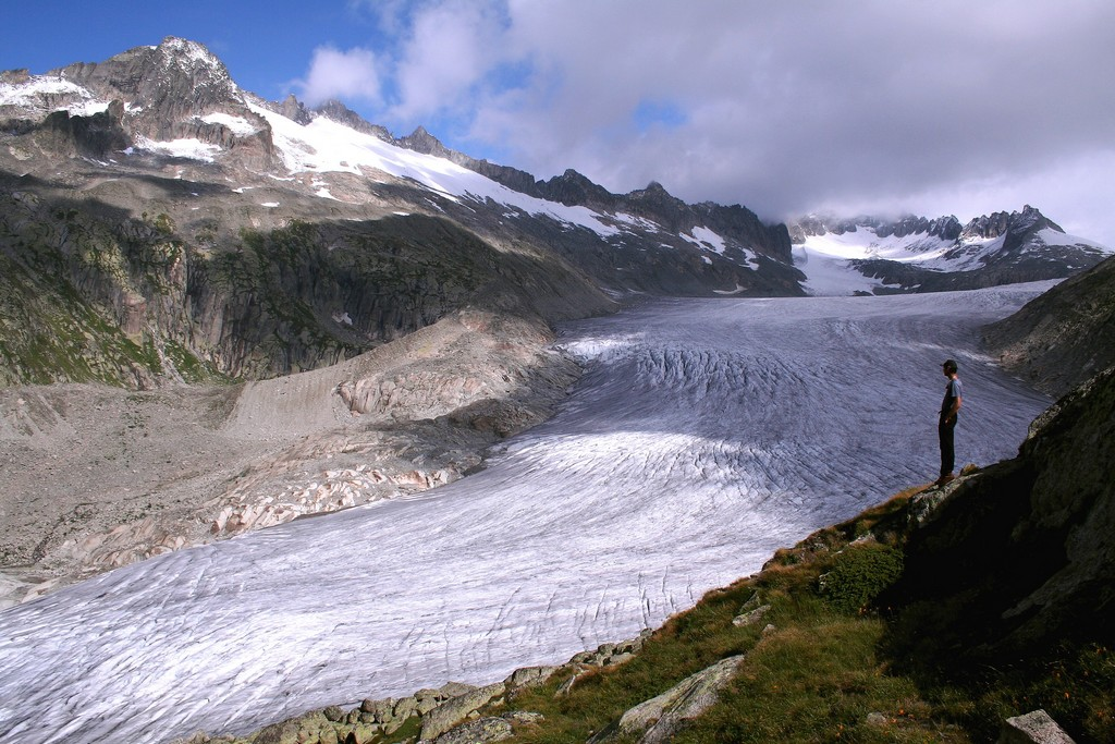 Glacier du Rhône Suisse