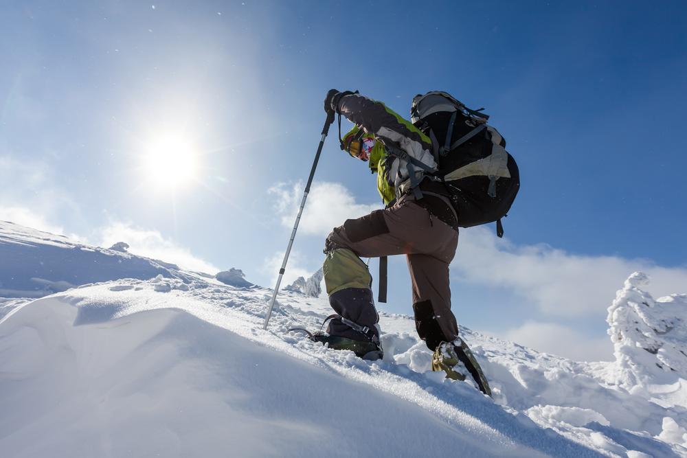 randonnée montagne hiver raquettes