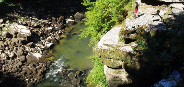 Le Saut du Doubs : de n'importe quel côté, c'est magnifique !