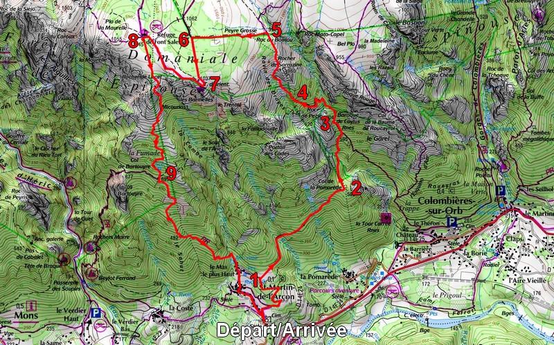 itinéraire cdr115
