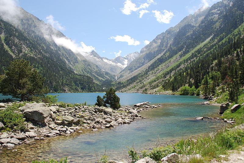 pyrénées lac de gaube