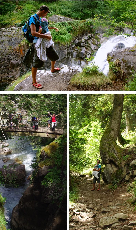 pont d'espagne cauterets sentier des cascades randonnée