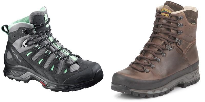 Sélection de chaussures de randonnée tiges mid