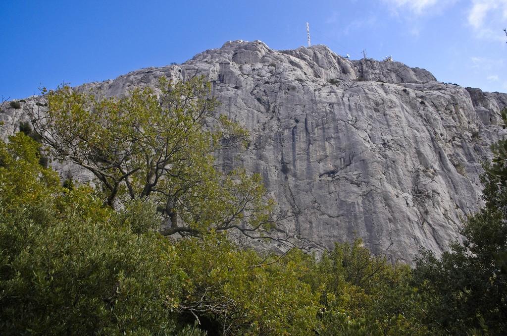 Bertagne : les falaises ouest